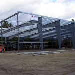 Jewett Metal Buildings Erects Boat Storage Building for Mid-Maine Marine