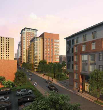 One Greenway, rendering