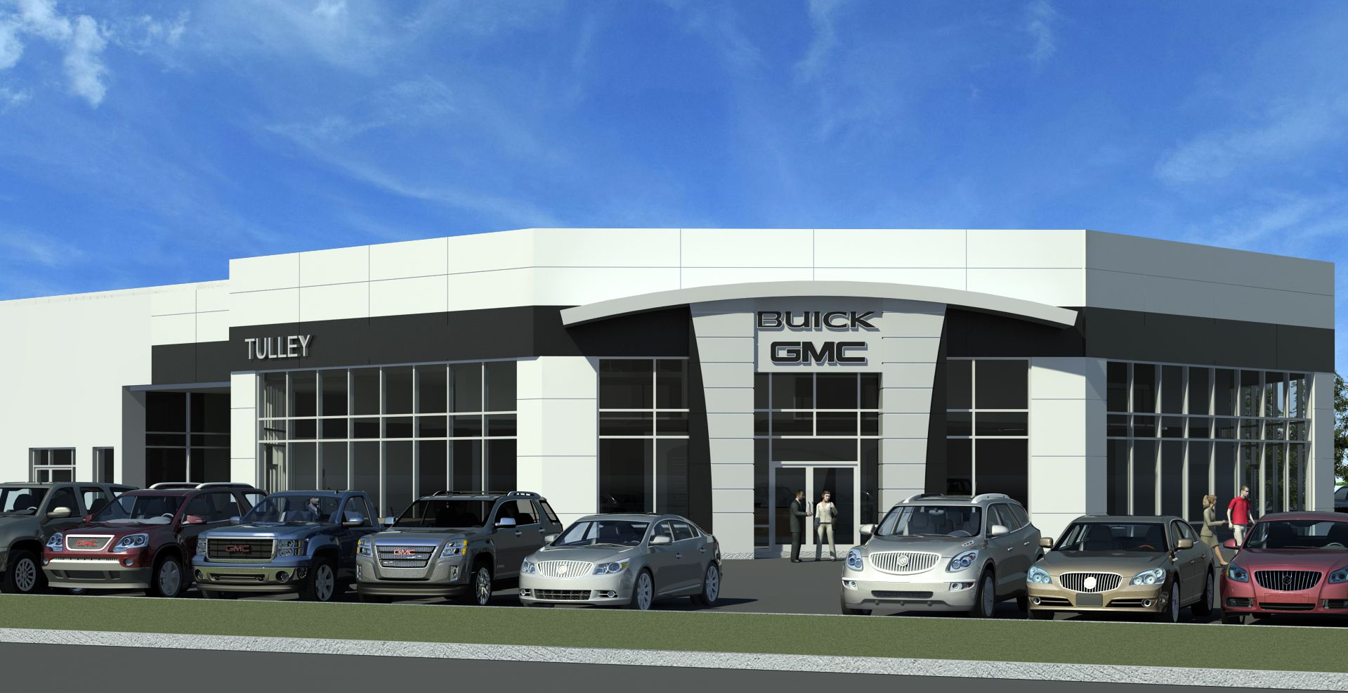 Jewett To Renovate Tulley Buick GMC HighProfile HighProfile - Dealer buick