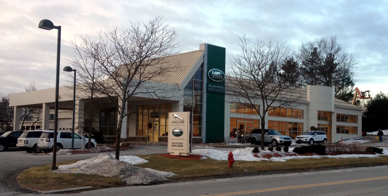 Exterior shot of Herb Chambers Dealership