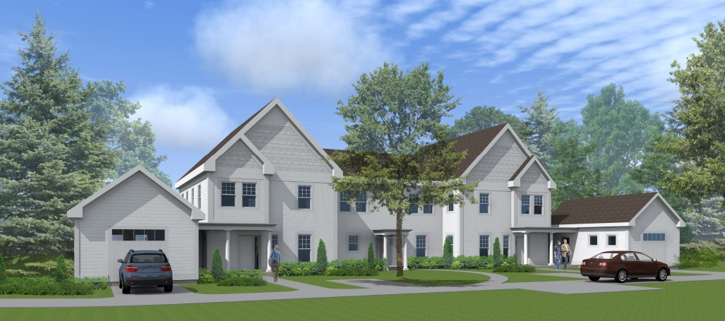 Rendering of Faculty  Housing at St. Paul's