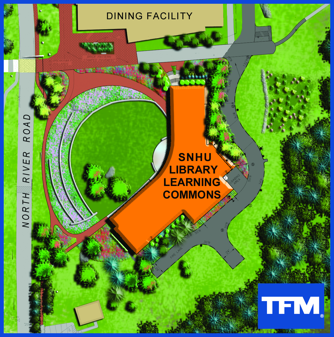 SNHU Library Learning Commons Site Plan