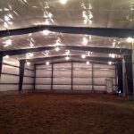 Jewett Completes Construction of South Thomaston Riding Arena