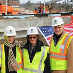 Tanglewood Hosts Topping Off of New Complex