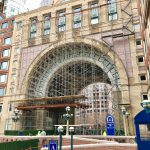 Marr Installs Scaffolding at Rowes Wharf