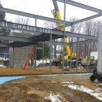 04142015 Laconia Fire Department Steel Erection Complete - Photo #1