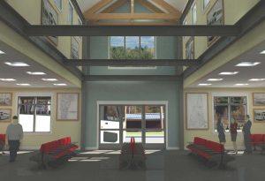 Dartmouth Coach Bus Terminal Waiting Room