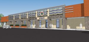 Rendering of Oneida Nation Health Services Building