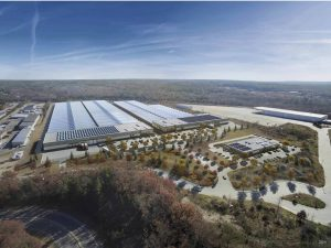 Rendering of MMCC facility