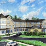 Artist rendering of The Residence at Firve Corners