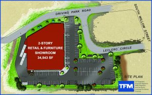 Ashley Furniture Site Plan
