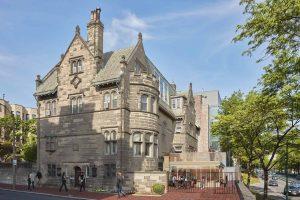 Exteiror of BU Alumni Center at the Castle
