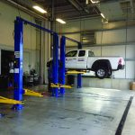 New Service Bays at the Renovated Commonwealth Chevrolet, Lawrence, MA