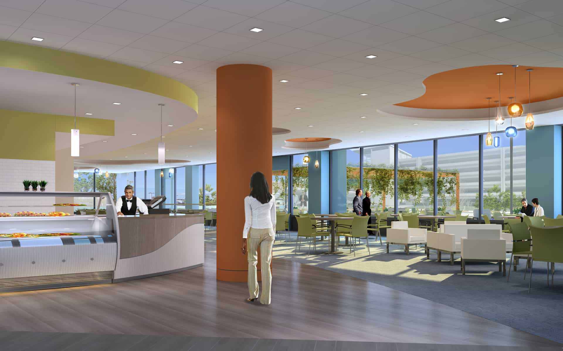 Heritage Landing Cafe- Rendering by Margulies Perruzzi Architects