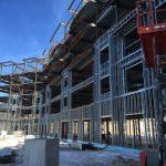Loon resort under construction