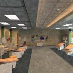 LLB Architects - Bryant University - Physician Assistant Interior