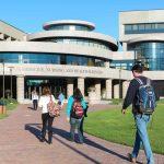 The Center for Medicine, Nursing and Health Sciences at Quinnipiac University's North Haven Campus