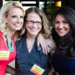 (l to r) Maureen Rystrom Of J. Calnan & Associates, Anastasia Barnes of High-Profile, and Kris Esposito of Office Resources, Inc.