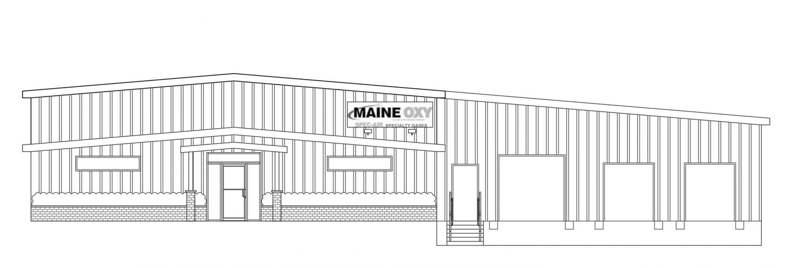 Maine Oxy rendering