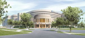 UConn Health Academic Building rendering /by Centerbrook Architects