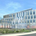 Rendering of UMass Lowell's Pulichino Tong Business Building