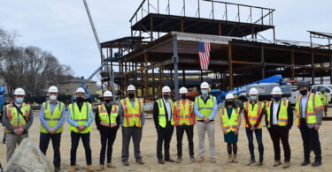 Weymouth_Chapman Middle School Topping Off_ BOND team photo_1